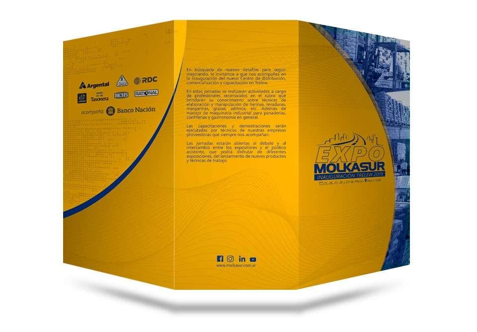 Diseño folleto Molkasur